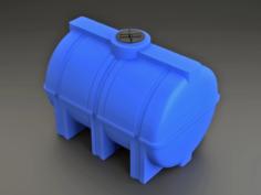 Polypropylene Cask 3D Model
