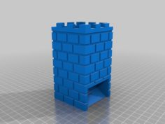 Dice Tower for Descent2 3D Print Model