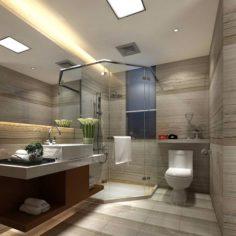Bathroom design complete model 145 3D Model