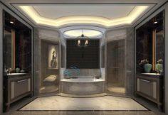 Bathroom design complete model 167 3D Model