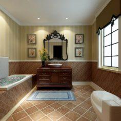 Bathroom design complete model 132 3D Model