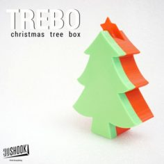 TREBO XMAS Tree Box 3D Print Model