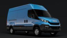 Iveco Daily Van L2H2 2014-2016 3D Model