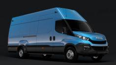 Iveco Daily Van L4H3 2014-2016 3D Model