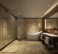 Bathroom design complete model 152 3D Model