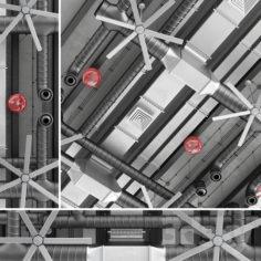 Ceiling ventilation 3                                      3D Model