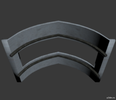 Roof Cells Arch Skylight 3D Model