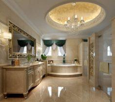 Bathroom design complete model 123 3D Model