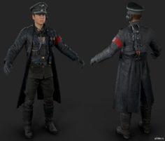 Nazi Milkshake 3D Model