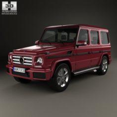 Mercedes-Benz G-Class 2016 3D Model