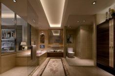 Bathroom design complete model 122 3D Model