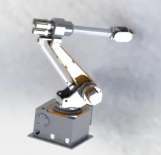 6 axis robots 3D Model