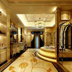 Bathroom design complete model 127 3D Model