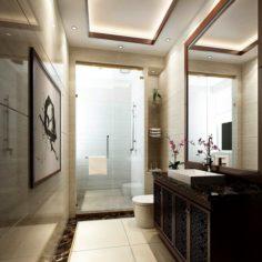 Bathroom design complete model 135 3D Model