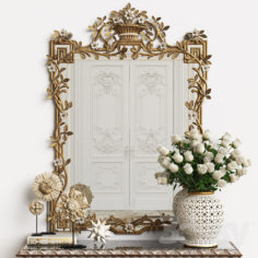 Mirror Chelini Art.1201                                      3D Model