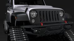 Jeep Wrangler Crawler Rubicon Recon JK 2017 3D Model