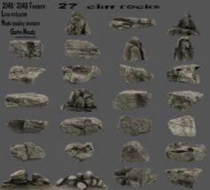 Cliff rock 3D Model
