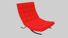 Chair Barcelona 3D Model