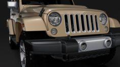 Jeep Wrangler Chief JK 2017 3D Model