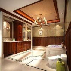 Bathroom design complete model 129 3D Model