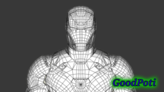 Costume Iron Man Mark46 3D printing 3D Model