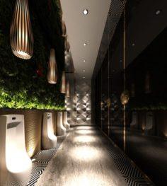 Bathroom design complete model 184 3D Model