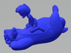 Baloo mowgli 3D Model