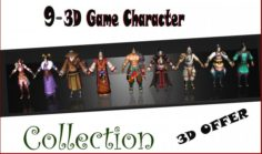 09 Game Character Collection A3 3D Model