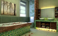 Family fashion sanitary toilet 1813 3D Model