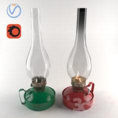 Kerosene lamp                                      Free 3D Model