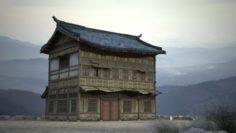 Ancient house building 3D Model