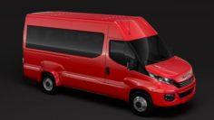 Iveco Daily Minibus L3H2 2017 3D Model