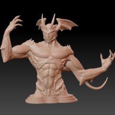 demon creature 3D Print Model