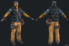 Rikers Shotgun 3D Model