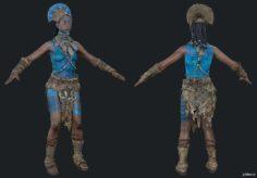 Izila Tribe Batari 3D Model