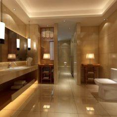 Bathroom design complete model 179 3D Model