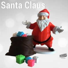 Santa Claus by 3DShook  3D Print Model