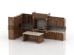 Classic kitchen 3D Collection