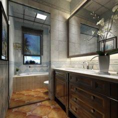 Bathroom design complete model 144 3D Model