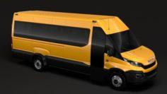 Iveco Daily Tourus L4H2 2014 2016 3D Model