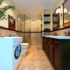 The family fashion bath toilet 1807 3D Model