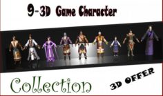 09 Game Character Collection A2 3D Model