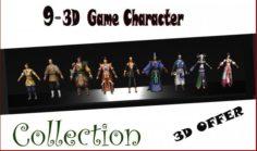 09 Game Character Collection A1 3D Model