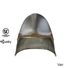 Helmet medieval 6 3D Model