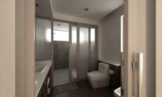 Bathroom 08 3D Model