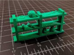 Gloomhaven Shelf (Remix) 3D Print Model