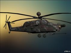 Ми-28 'Havoc' 3D Model