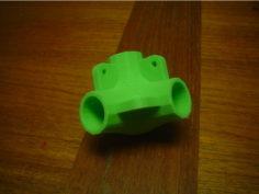 Corner for 0.75 inch OD tubing 3D Print Model