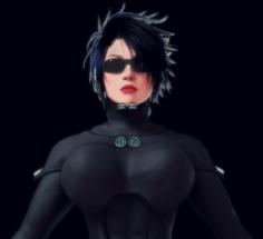 Gantz-O Mary Aclen 3D Model