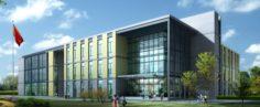 School building 056 3D Model